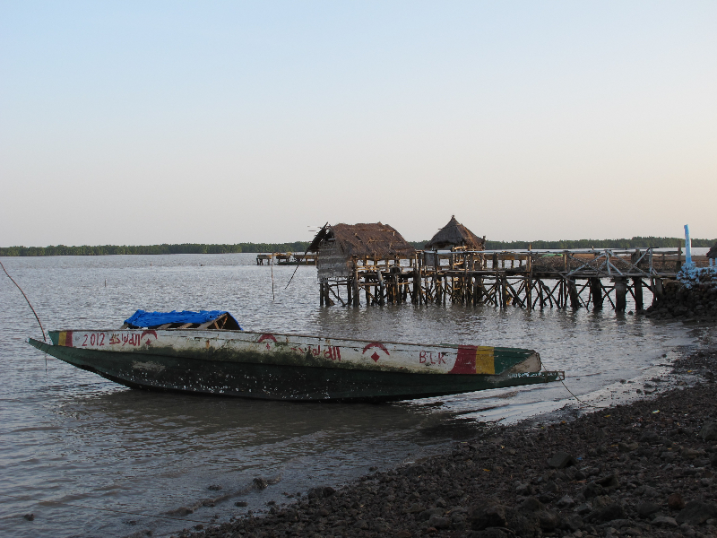 Tendaba Pier
